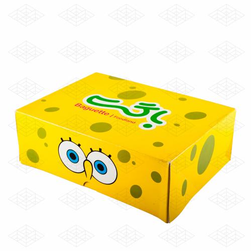 جعبه با طرح کارتون