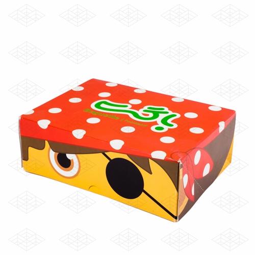 جعبه غذا با چاپ برای کودکان
