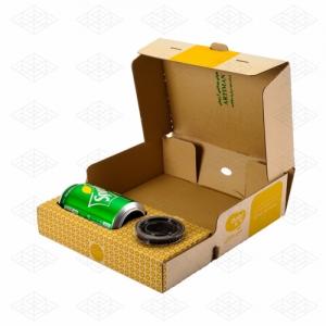 جعبه فینگرفود با جای سس و نوشابه