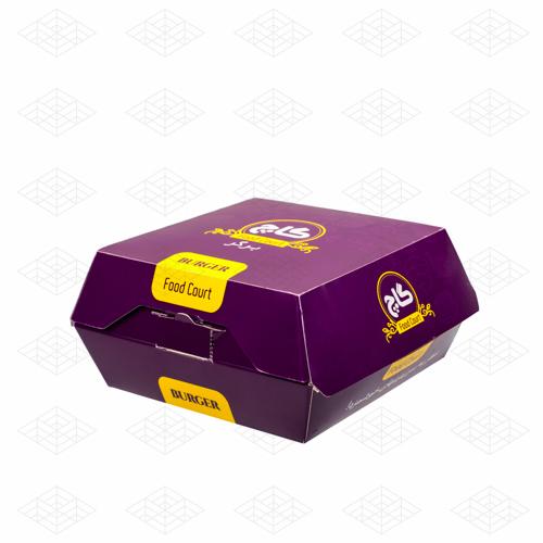 جعبه همبرگر و برگر