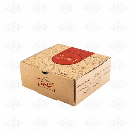 جعبه مخصوص انواع برگر