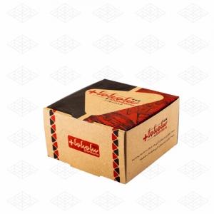 جعبه همبرگر ساده