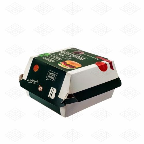جعبه برگر مدل مک دونالدی