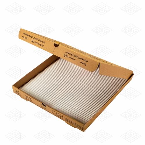 طراحی و ساخت جعبه پیتزا