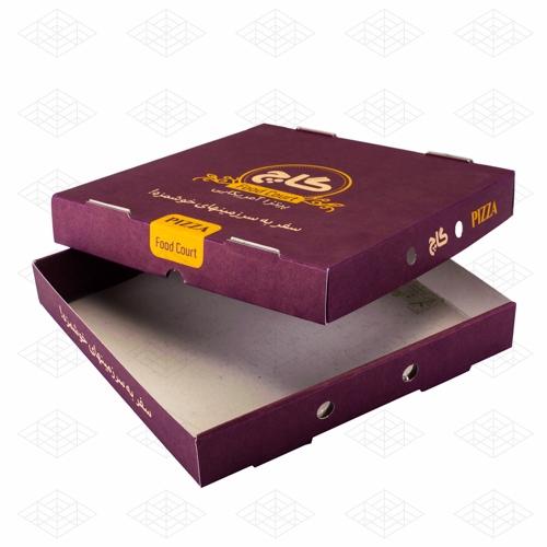 جعبه پیتزا درب دار