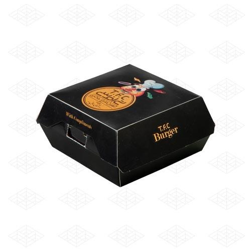 جعبه همبرگر برگرکینگ قفل دار
