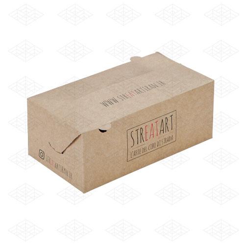 جعبه سوخاری کرافت کوچک قفل دوطرفه