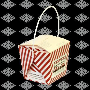جعبه سالاد دسته دار رستوران