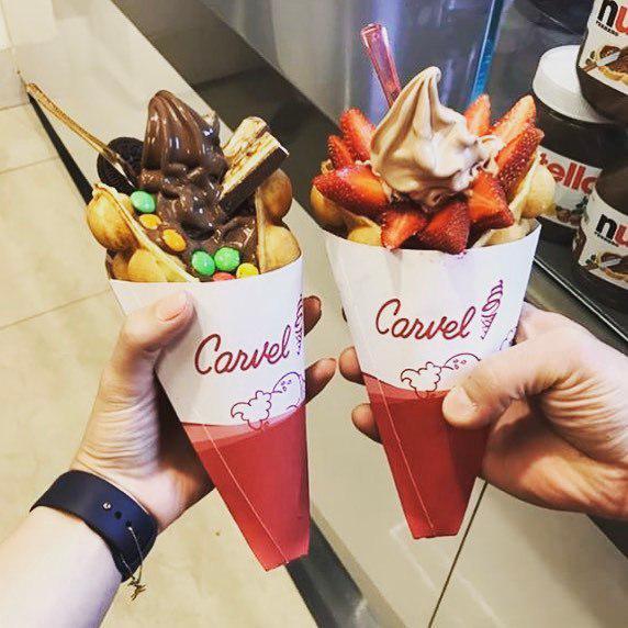 قیف بستنی کارول