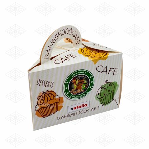 جعبه دسته دار کیک