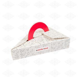 جعبه کیک مثلثی دسته دار