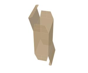 جعبه با لبه برگردان کامل