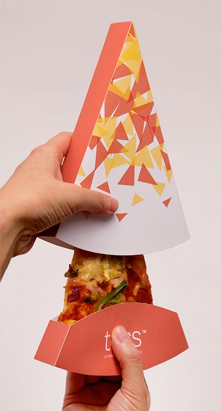 جعبه برای اسلایس پیتزا