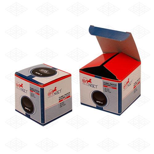 جعبه لوازم یدکی مقوایی درب دارویی