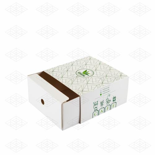 جعبه دونات با نگهدارنده