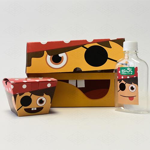 بسته بندی برای کودکان، (Happy Meal)