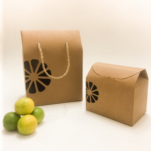 جعبه کرافت میوه