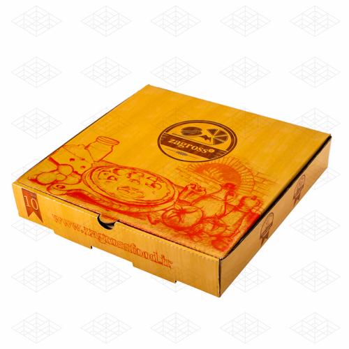 جعبه پیتزا رستوران زاگرس
