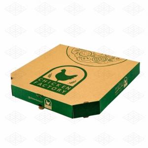 جعبه پیتزا ۶ ضلعی ای فلوت