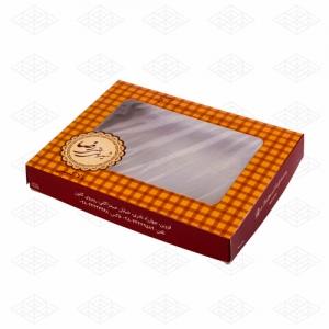 جعبه شیرینی و شکلات پنجره دار