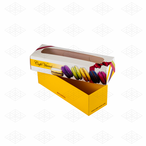 جعبه شیرینی ماکارون