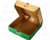 جعبه پیتزا با ورق سه لایه