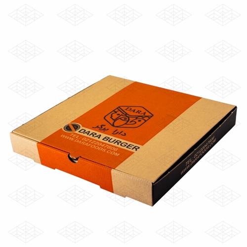 جعبه پیتزا ای فلوت