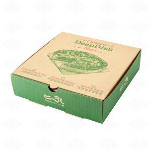 جعبه پیتزا آمریکایی ای فلوت