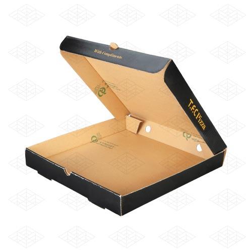جعبه پیتزا ایتالیایی ای فلوت
