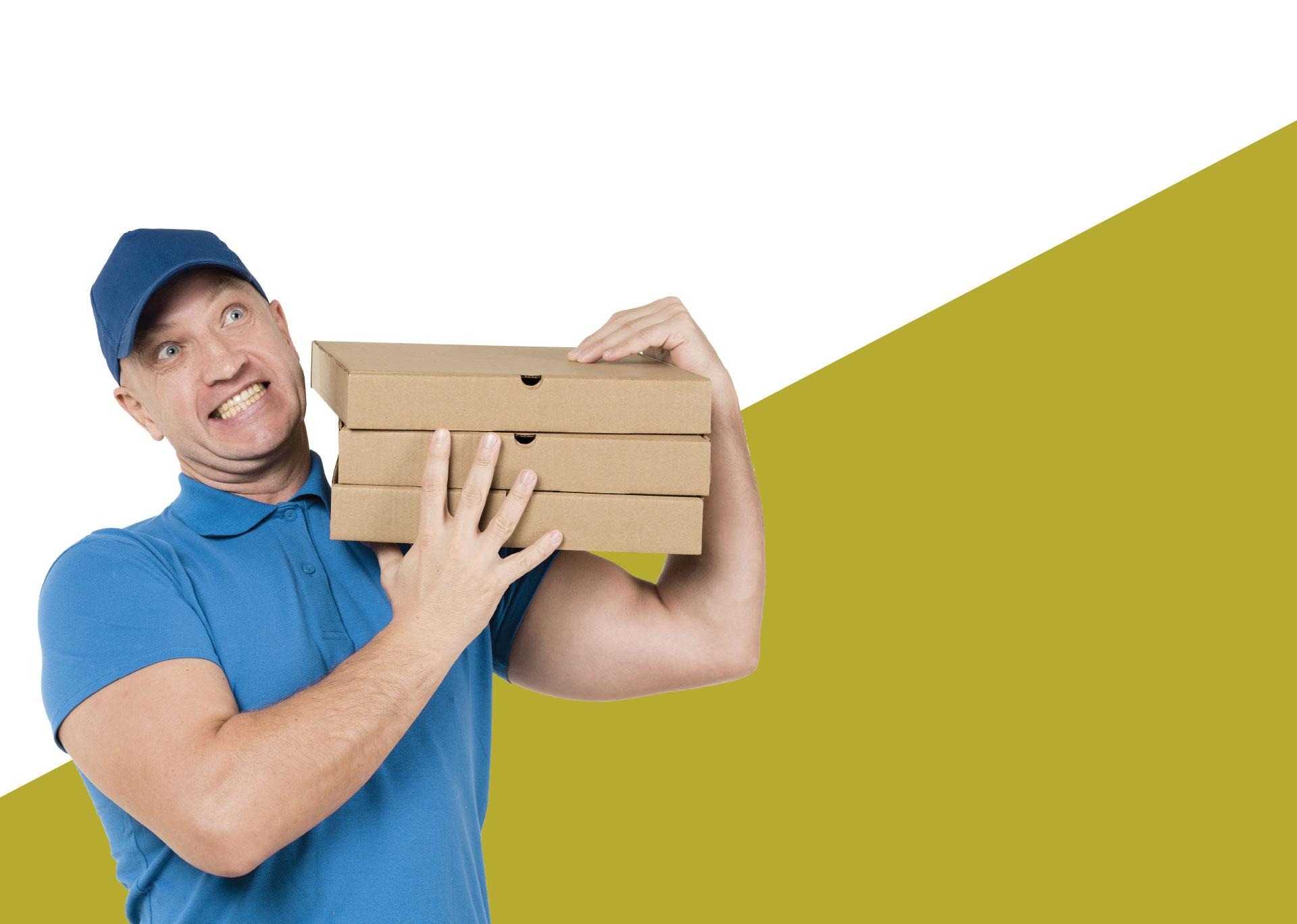 جعبه پیتزا مقوایی : روند تولید جعبه پیتزا از گذشته تاکنون