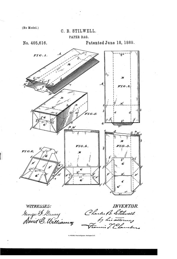 پاکت کاغذی چارلز استیلول