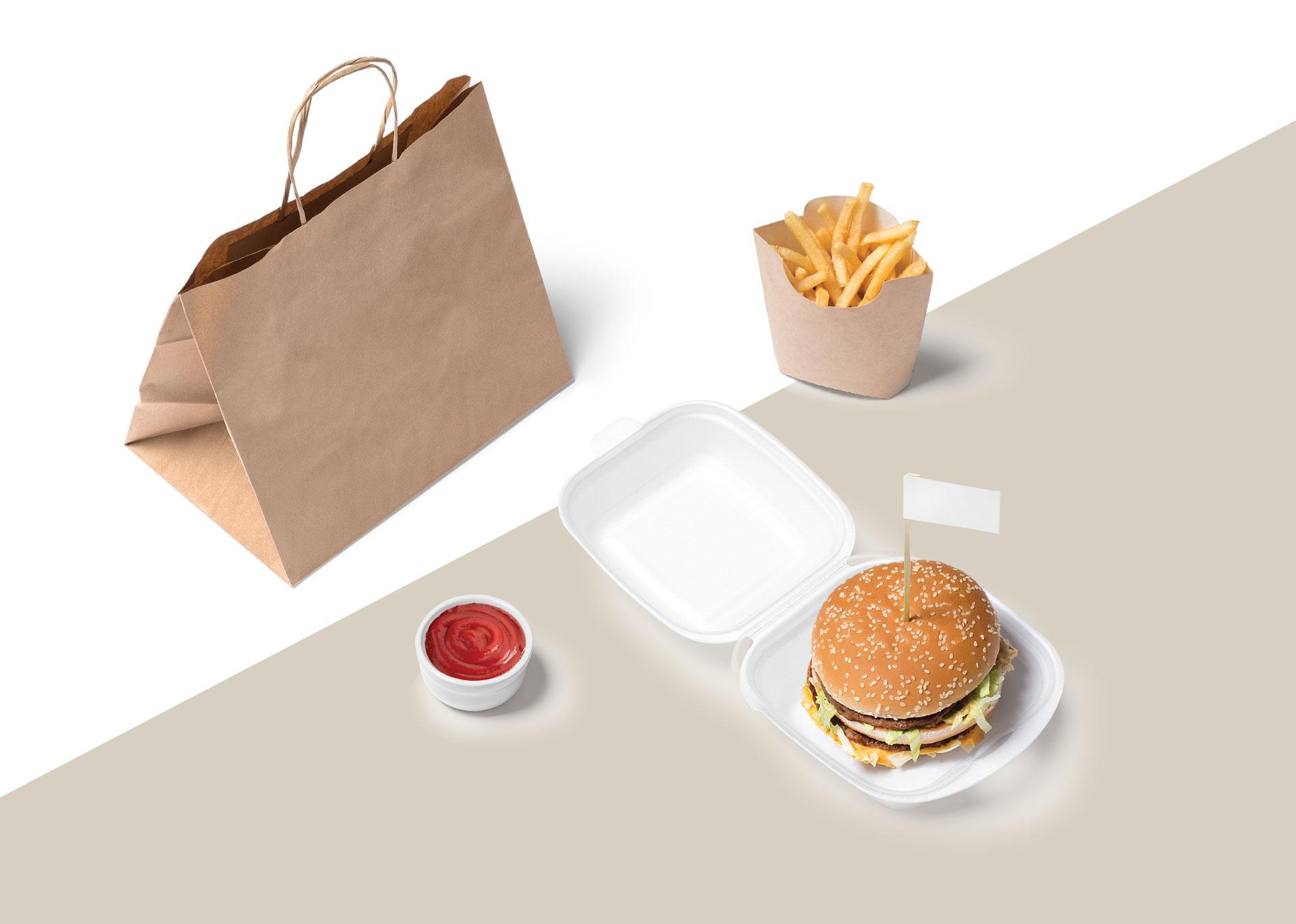 جعبه خلاقانه همبرگر: ۹ نمونه بسته بندی نوآورانه و کاربردی همبرگر