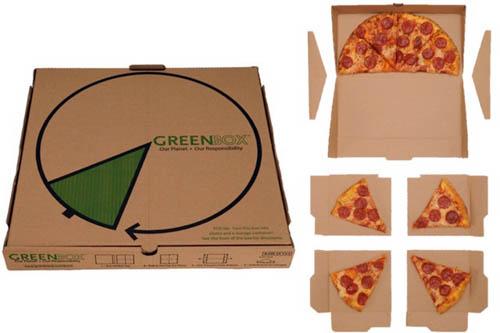 جعبه پیتزا کاربردی و خلاقانه