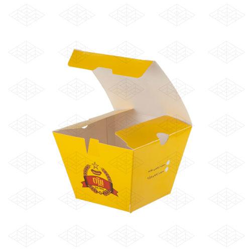 جعبه سیب زمینی مخروطی