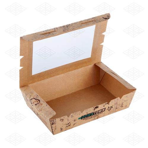 جعبه سالاد پنجره دار