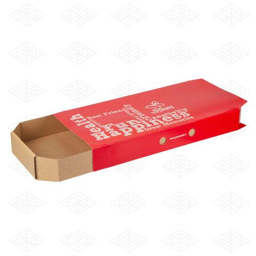 جعبه پیتزا کشویی