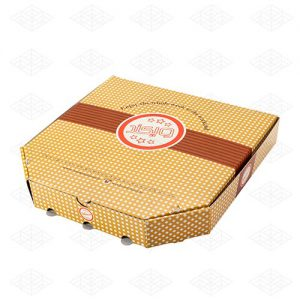 جعبه پیتزا ۶ ضلعی مقوایی