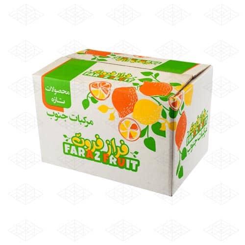 جعبه میوه در بسته بندی محصول